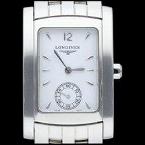 Longines DolceVita Steel 20mm White No numerals