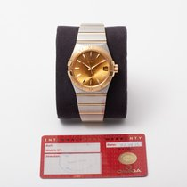 Omega Constellation Men Gold/Steel 38mm Champagne United Kingdom, Radlett