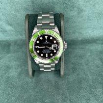 Rolex Submariner Date Acciaio 40mm Verde Senza numeri Italia, Saronno