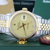 Rolex 16013 Steel Datejust 36mm pre-owned United States of America, New York, New York