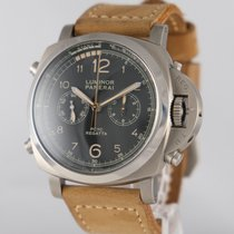 Panerai Luminor 1950 Regatta 3 Days Chrono Flyback Titanium 46mm Zwart
