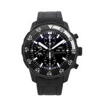IWC Aquatimer Chronograph 44mm Black No numerals