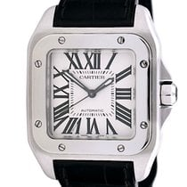 Cartier Santos 100 new 2020 Automatic Watch with original box and original papers W20106X8