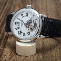 Frederique Constant Manufacture Heart Beat Steel 40mm White