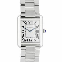 Cartier Tank Solo Steel 35mm Roman numerals United States of America, New York, Massapequa Park