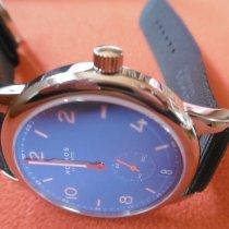 NOMOS Club Automat Datum Stahl 41,5mm Blau Arabisch Deutschland, Bruchsal