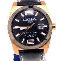 Locman Stealth Titanium 43mm Black