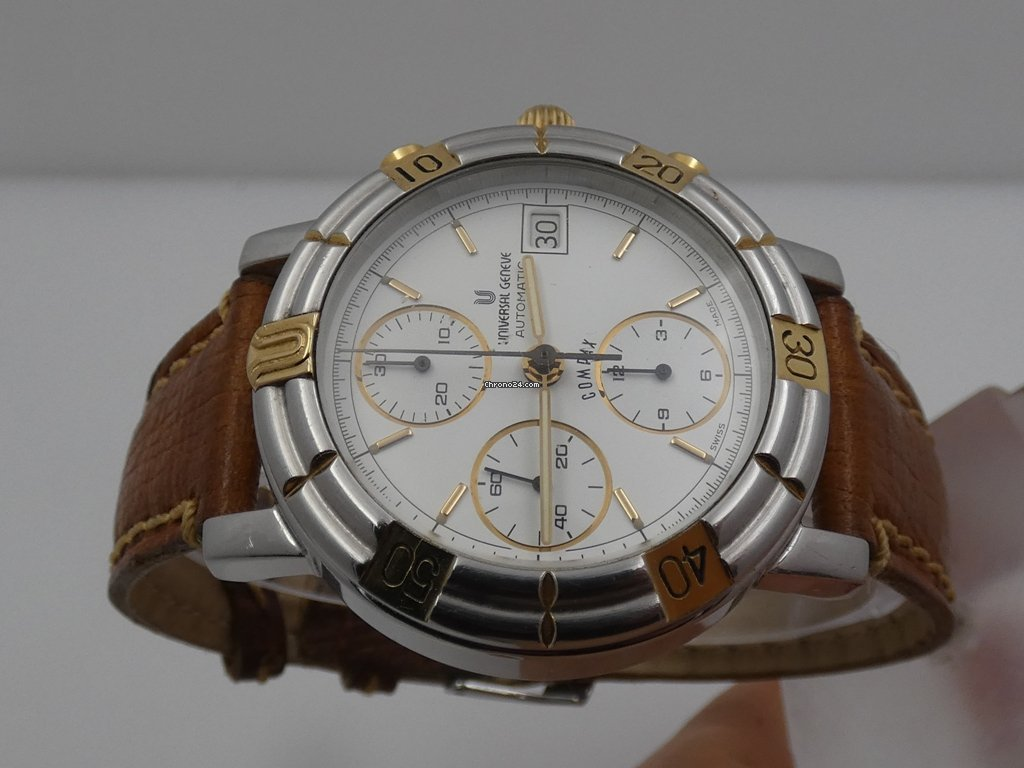 Universal Genève Compax 698.410 1990 pre-owned