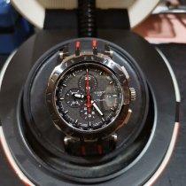 Tissot T-Race подержанные 43mm Черный Хронограф Дата Каучук