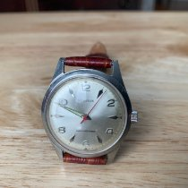 Benrus Steel 34mm Manual winding pre-owned United States of America, New Jersey, Upper Saddle River