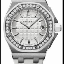 Audemars Piguet Royal Oak Offshore Lady Steel 37mm Silver No numerals United States of America, New York, New York