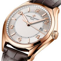Vacheron Constantin Rose gold Automatic Silver Arabic numerals 40mm pre-owned Fiftysix