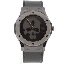 Hublot pre-owned Automatic 42mm Black Sapphire crystal