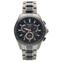Seiko Astron GPS Solar Chronograph Ceramic 46mm Black United States of America, Florida, Sarasota