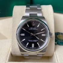 Rolex Oyster Perpetual 36 Steel 36mm Black No numerals United States of America, New York, New York