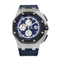 Audemars Piguet 26401PO.OO.A018CR.01 Platinum Royal Oak Offshore Chronograph 44mm pre-owned United States of America, New York, New York