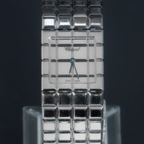 Chopard Ice Cube Steel 22mm Silver No numerals