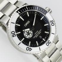 Oris Steel 43.5mm Automatic 01 743 7734 4184-Set MB new
