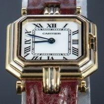 Cartier Trinity Or jaune 22mm Blanc Romains