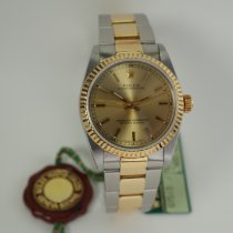 Rolex Oyster Perpetual 31 pre-owned 30mm Champagne Gold/Steel
