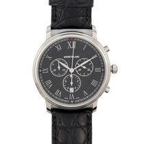Montblanc Tradition pre-owned 43mm Chronograph Leather