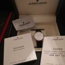 Junghans max bill Ladies Steel 30mm White