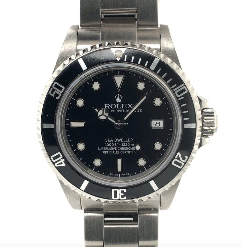 Rolex Sea-Dweller 4000 16600 2002 folosit
