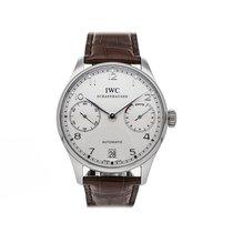 IWC Portuguese Automatic Platinum 42mm Silver Arabic numerals United States of America, Pennsylvania, Bala Cynwyd