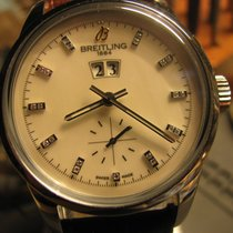 Breitling Transocean 38 new 2019 Automatic Watch with original box and original papers A1631012/A765