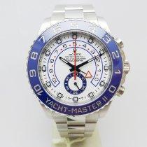 Rolex Yacht-Master II Acciaio 44mm Bianco Senza numeri Italia, Rassina