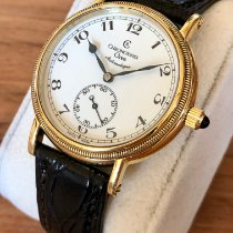Chronoswiss Orea Yellow gold 36mm White Arabic numerals
