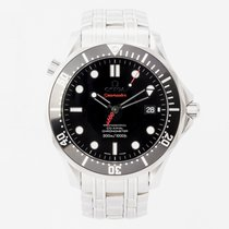 Omega Seamaster Diver 300 M Steel 41mm Black No numerals United Kingdom, Guildford,Surrey