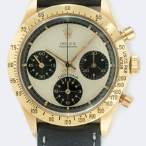 Rolex Daytona Yellow gold 37mm No numerals