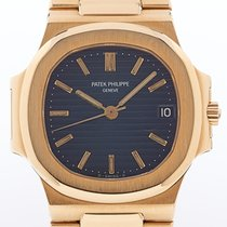Patek Philippe 3800 Yellow gold 1987 Nautilus 37mm pre-owned