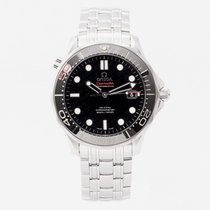 Omega Seamaster Diver 300 M Steel 41mm Black No numerals United Kingdom, Guildford,Surrey