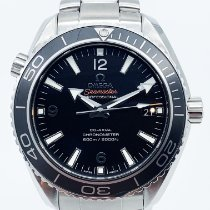 Omega Seamaster Planet Ocean Acier 42mm Noir Arabes France, Paris