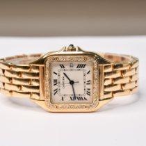 Cartier Panthère tweedehands 27mm Geelgoud