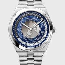 Vacheron Constantin Acero Automático Azul 43.5mm nuevo Overseas World Time