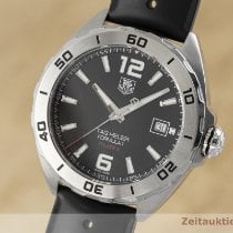 TAG Heuer Formula 1 Calibre 5 pre-owned 41mm Black Date Rubber