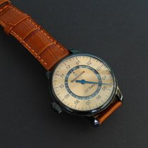Meistersinger Perigraph Steel 43mm Arabic numerals