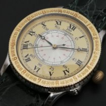 Longines Lindbergh Hour Angle Steel 38mm Gold Roman numerals