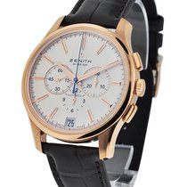 Zenith Automatic Silver 42mm pre-owned Captain Chronograph