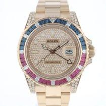 Rolex 126755SARU Or rose 2019 GMT-Master II 40mm occasion