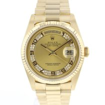 Rolex Day-Date 36 18238 Very good Yellow gold 36mm Automatic