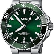 Oris Steel 41.5mm Automatic 01 733 7766 4157-07 8 22 05PEB new