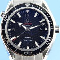 Omega Seamaster Planet Ocean gebraucht 44mm Schwarz Datum Stahl