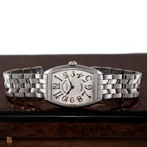 Franck Muller Cintrée Curvex Steel 29mm Silver United States of America, New Jersey, Englewood