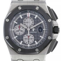 Audemars Piguet Royal Oak Offshore Chronograph occasion 44mm Gris Chronographe Date Caoutchouc