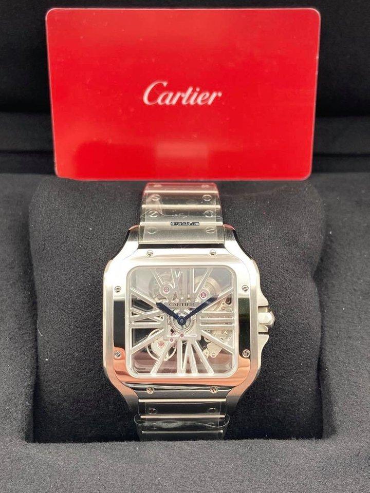 Cartier Santos (submodel) WHSA0015 2020 new