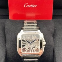 Cartier Santos (submodel) Steel Transparent United States of America, New York, New York